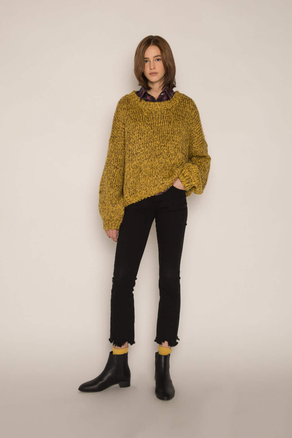 Sweater H076 Mustard 1