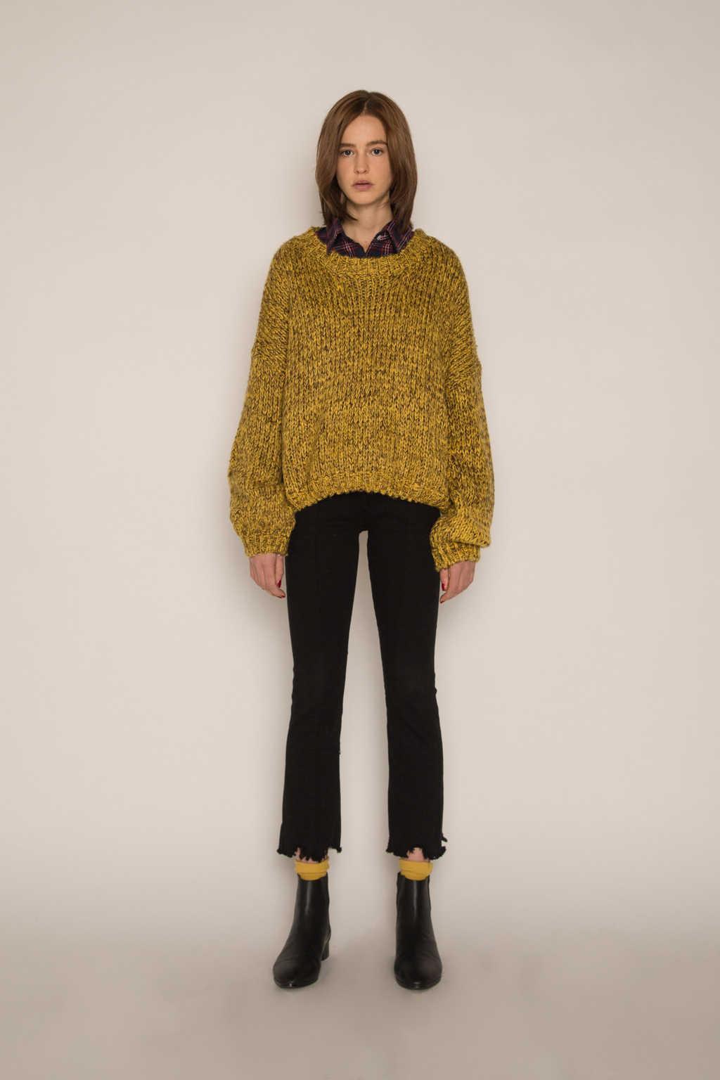 Sweater H076 Mustard 2