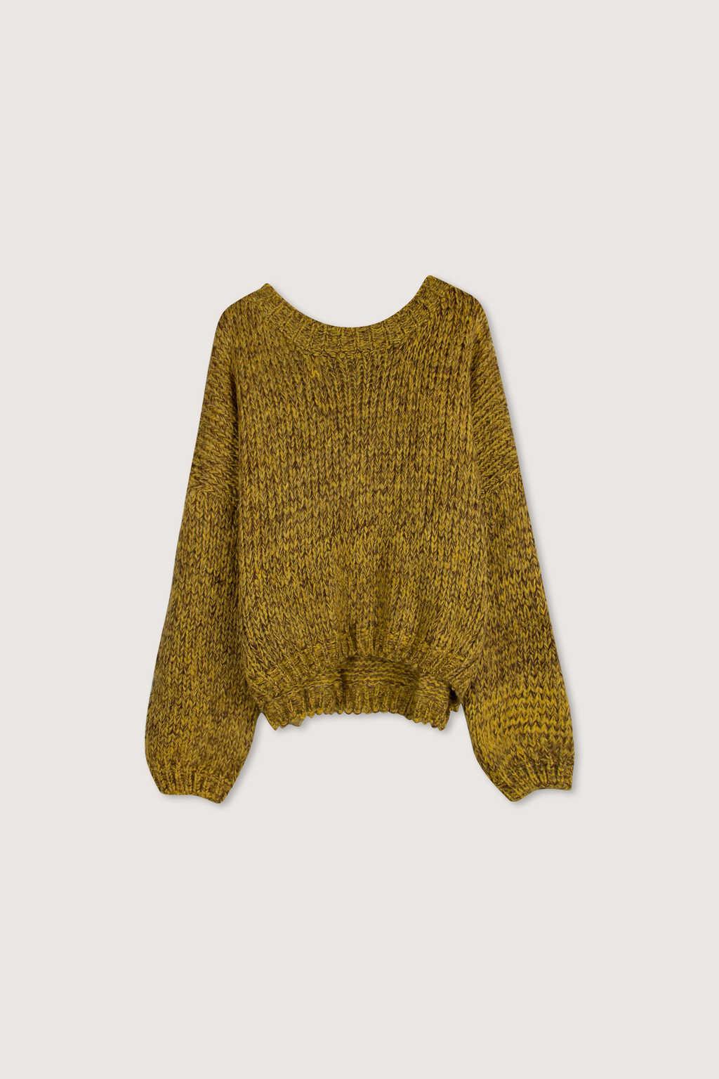 Sweater H076 Mustard 5
