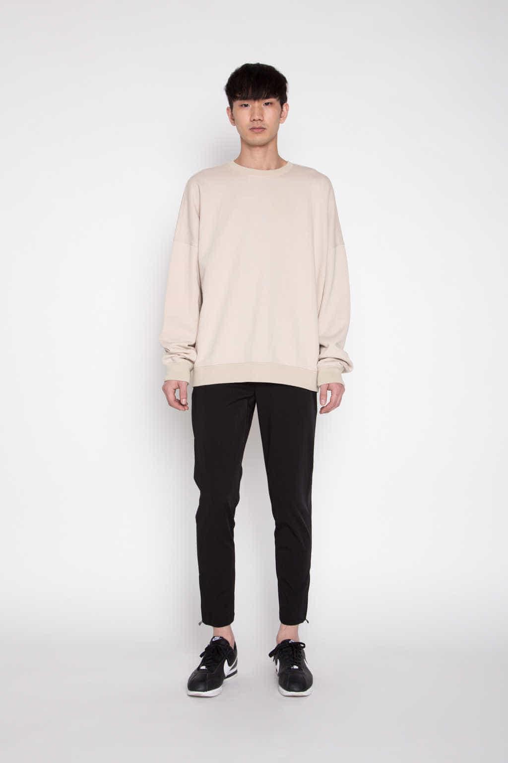 Sweatshirt 1123 Beige 3