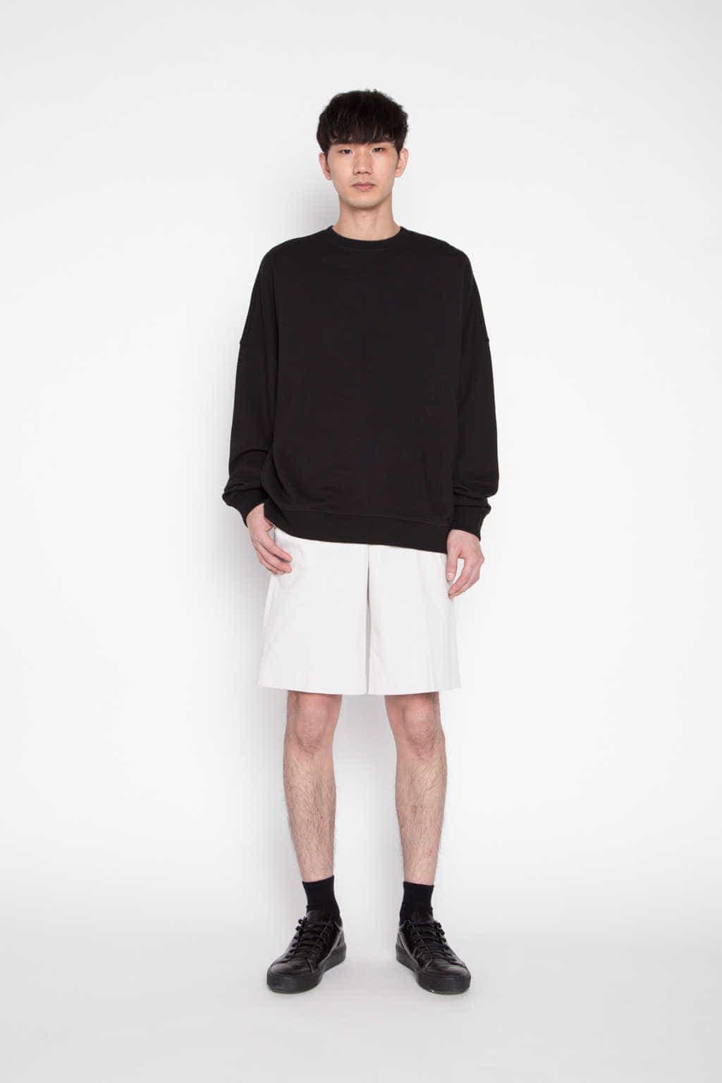 Sweatshirt 1123 Black 1