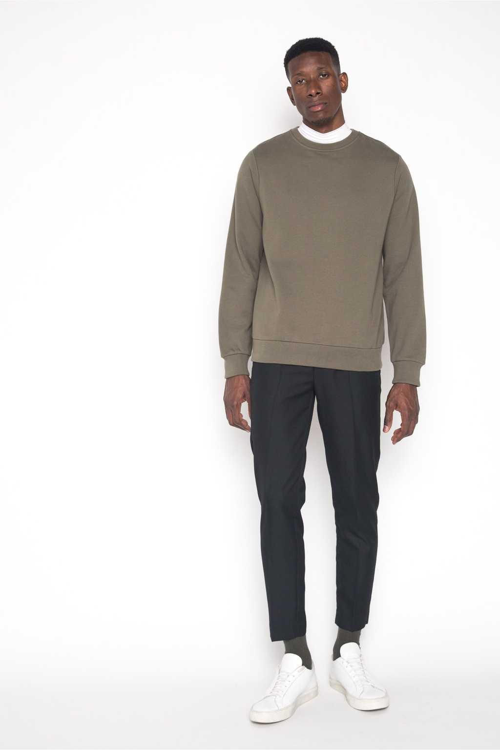 Sweatshirt 1413 Olive 1