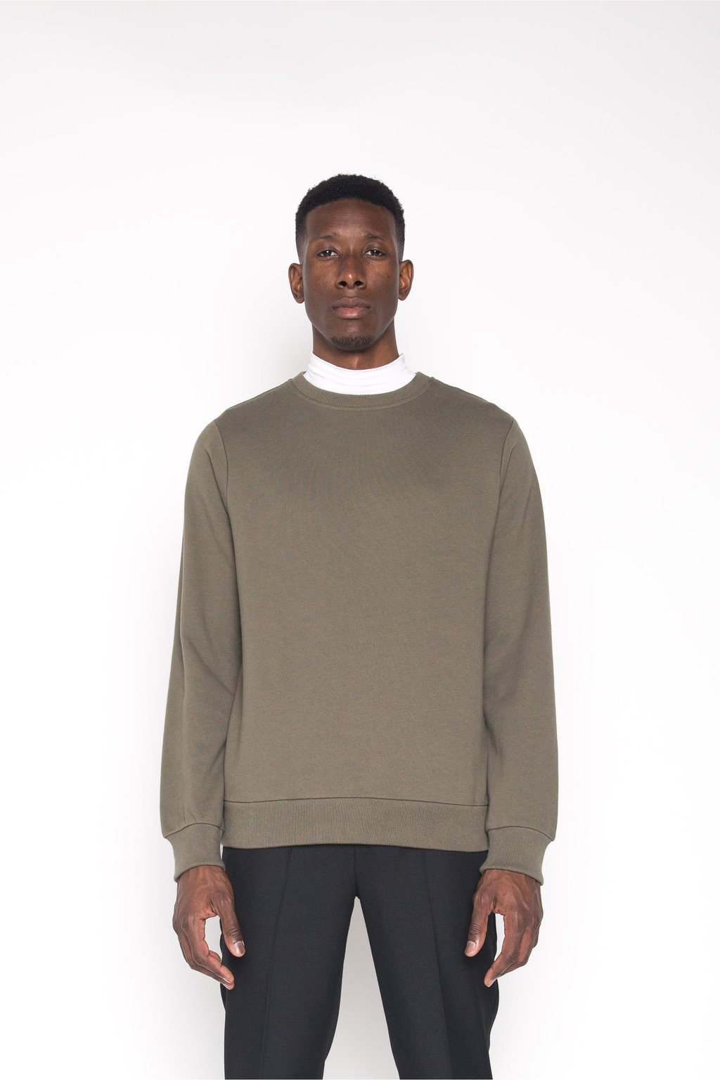 Sweatshirt 1413 Olive 2