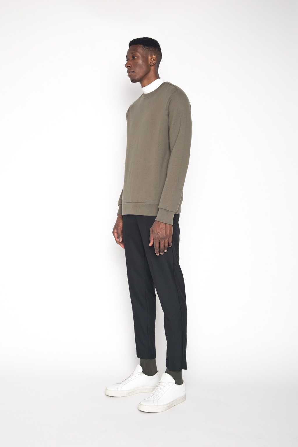 Sweatshirt 1413 Olive 3