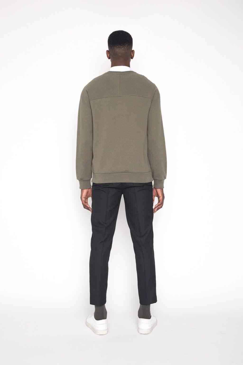 Sweatshirt 1413 Olive 4