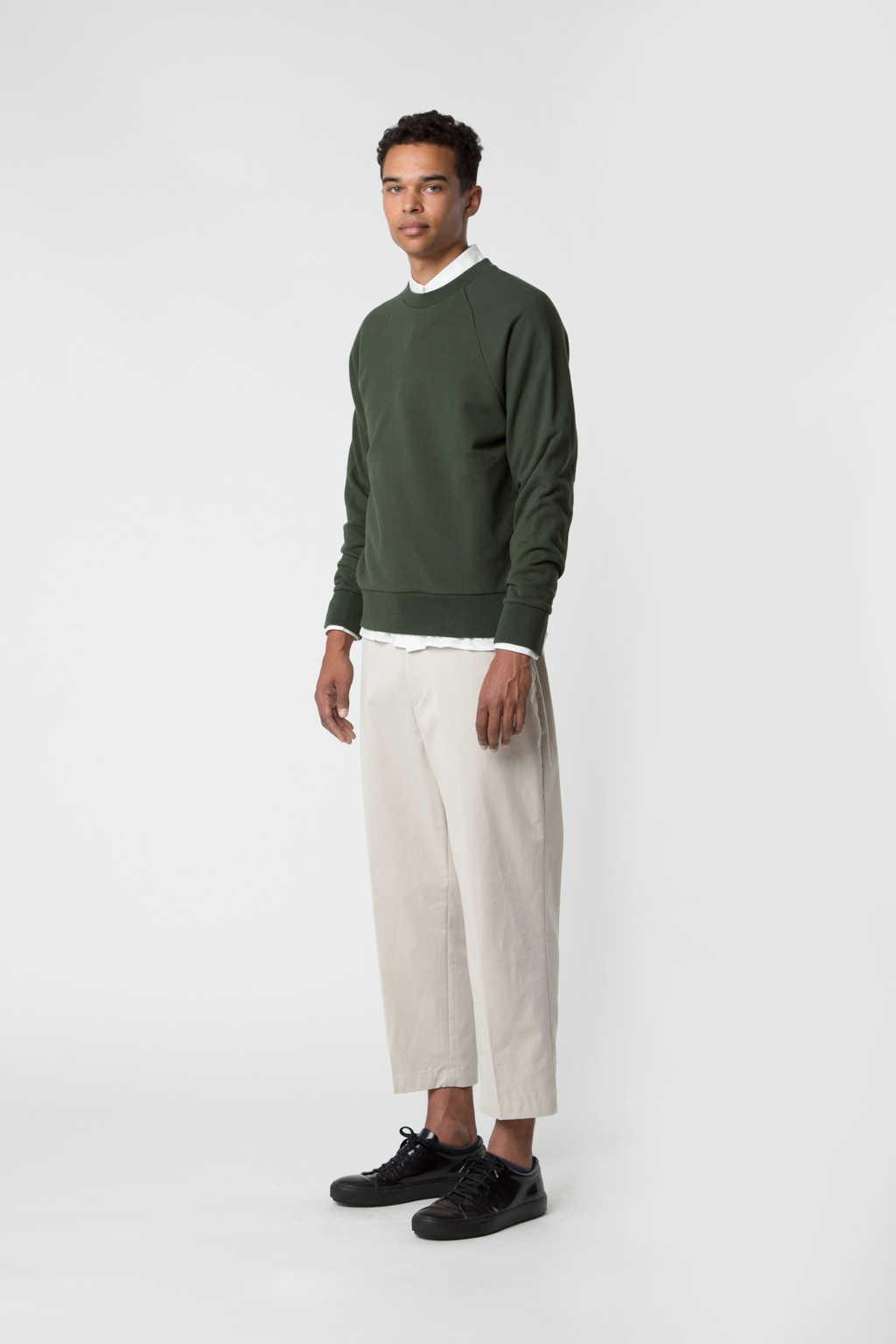 Sweatshirt 2474 Green 7
