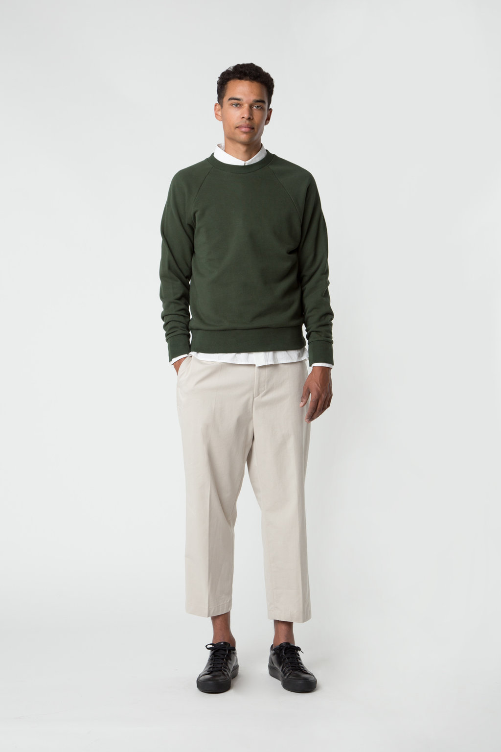 Sweatshirt 2474 Green 9