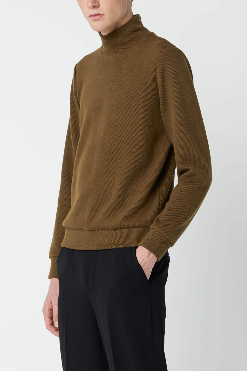 Sweatshirt 2667 Olive 2