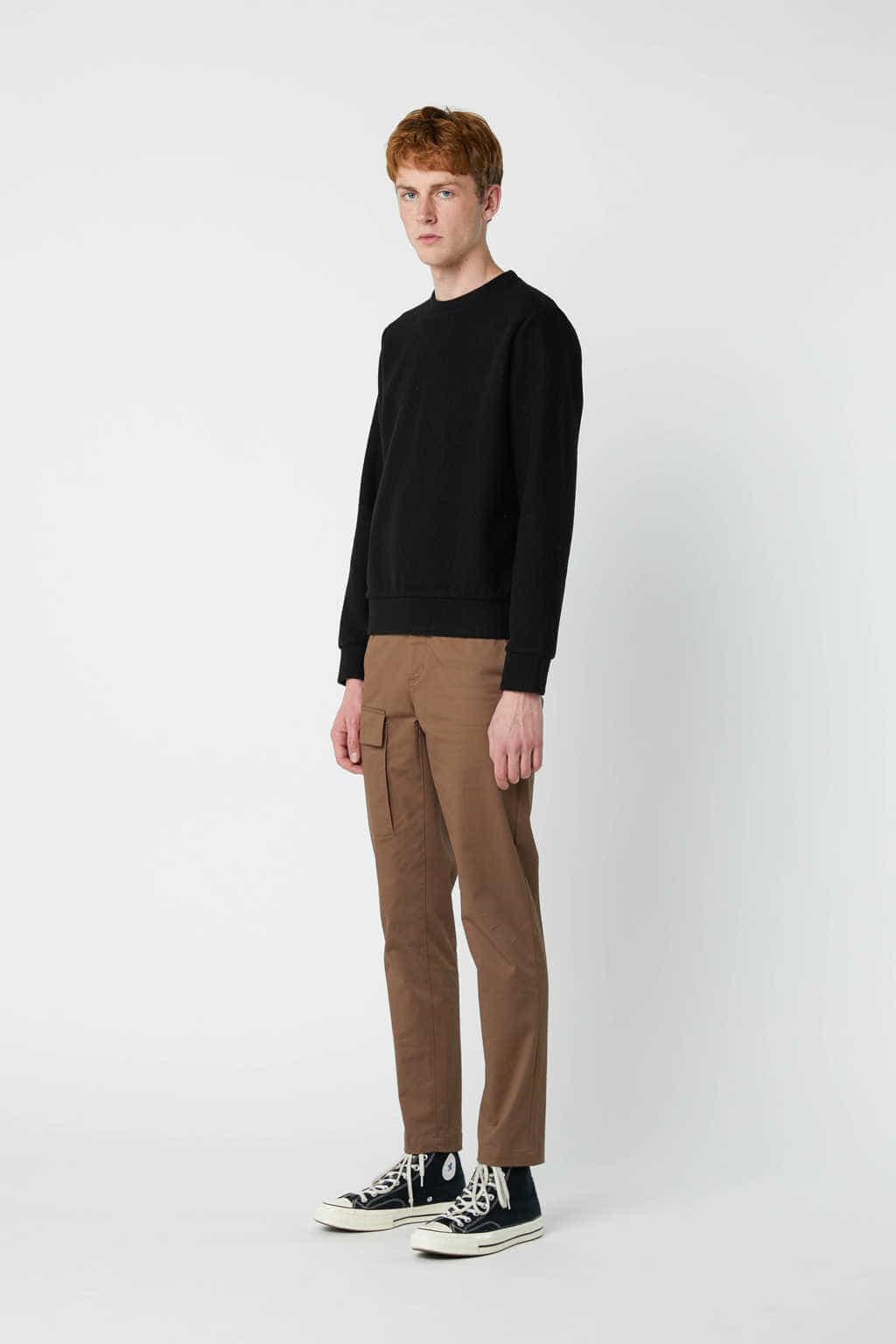 Sweatshirt 2668 Black 9
