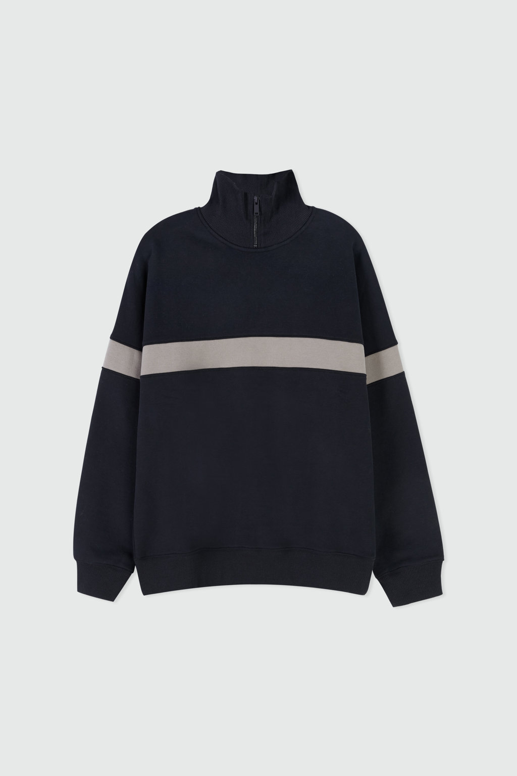 Sweatshirt 2669 Black Stripe 5