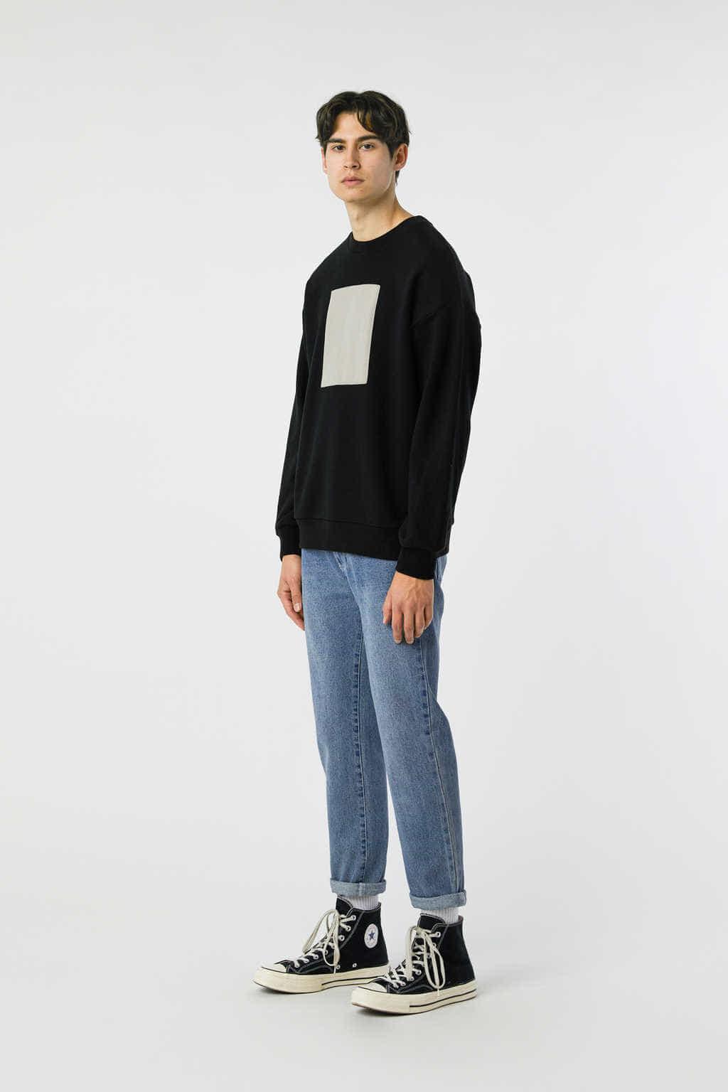 Sweatshirt 3138 Black 13