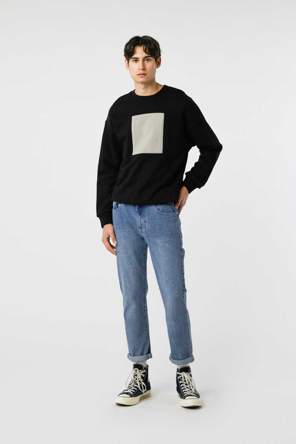 Sweatshirt 3138 Black 14