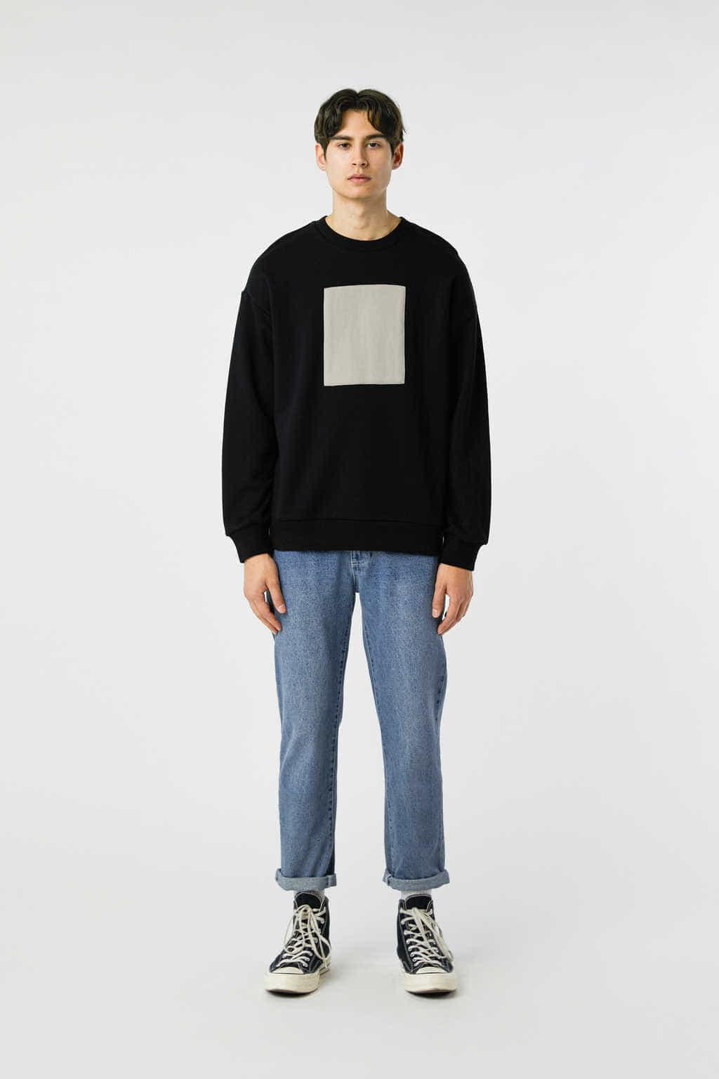 Sweatshirt 3138 Black 15