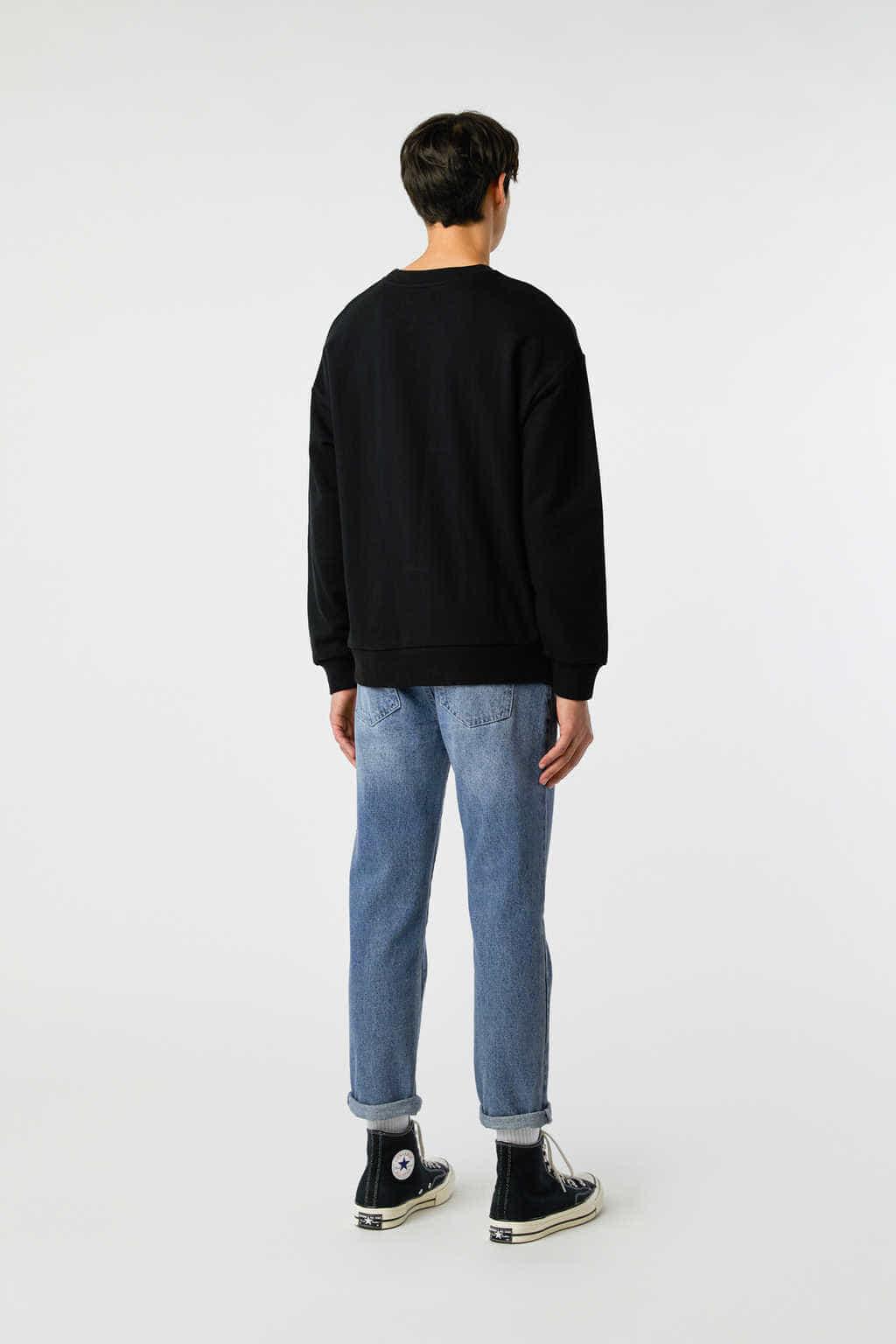 Sweatshirt 3138 Black 16