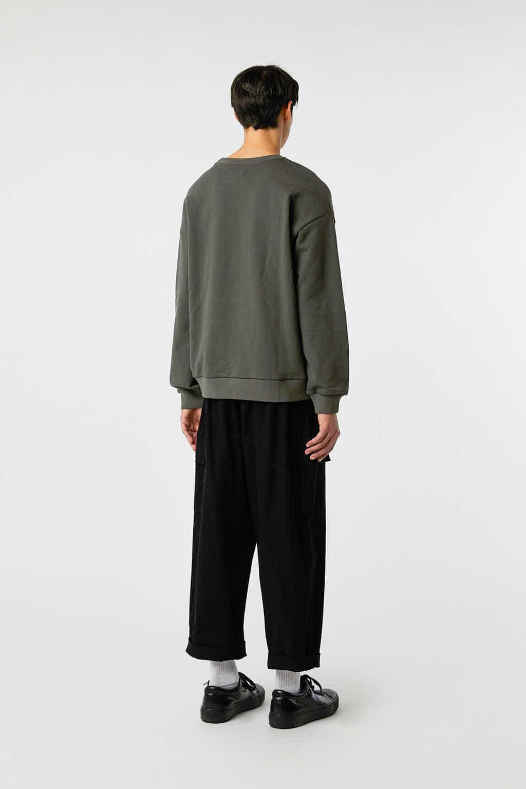 Sweatshirt 3138 Olive 10