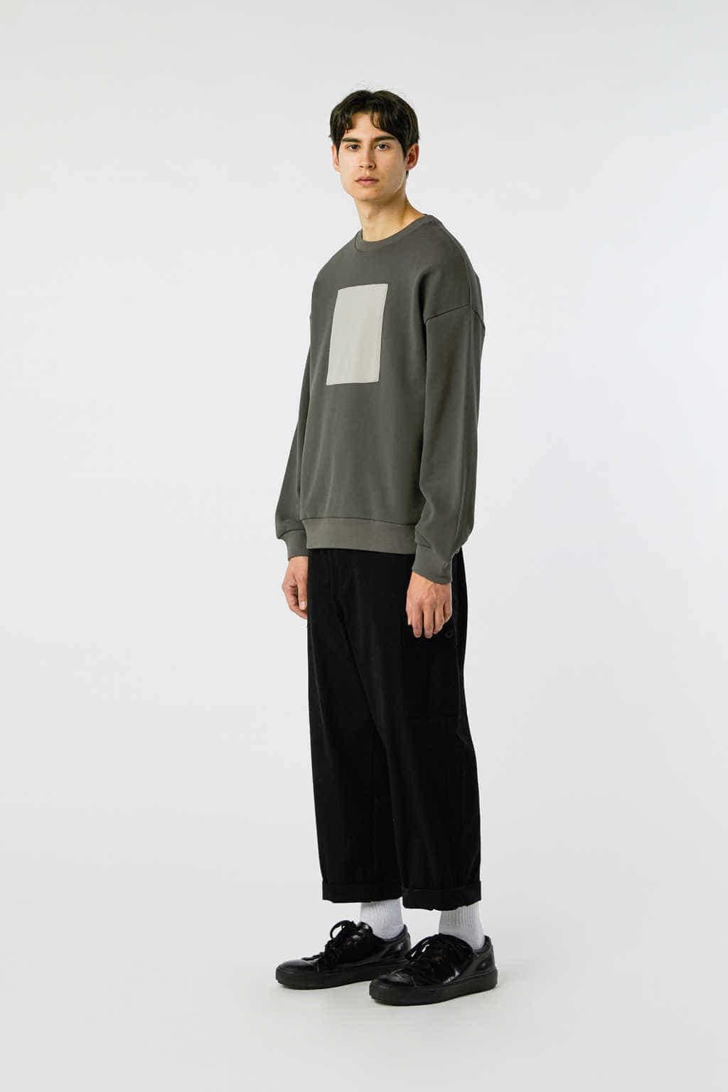Sweatshirt 3138 Olive 8