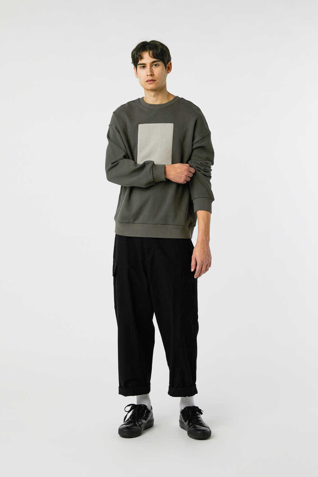 Sweatshirt 3138 Olive 9
