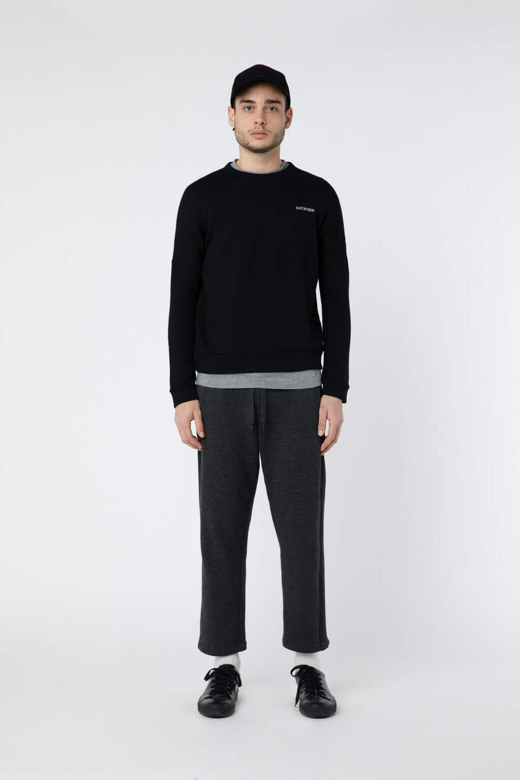 Sweatshirt 3302 Black 8