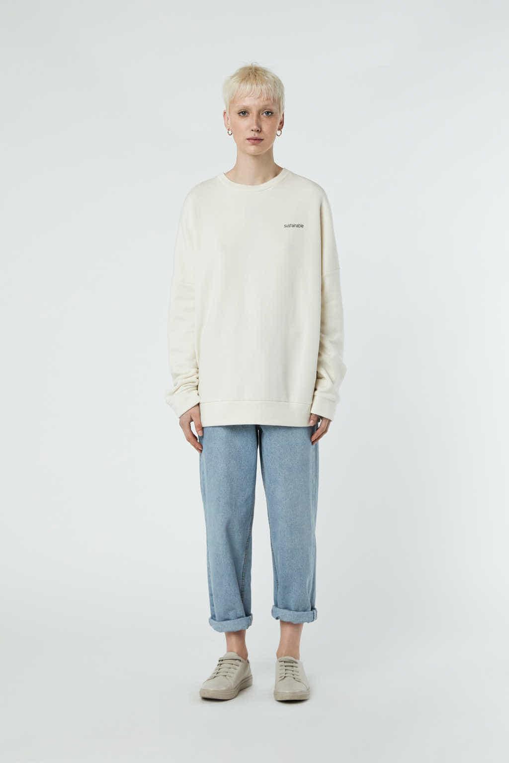Sweatshirt 3302 Cream 2