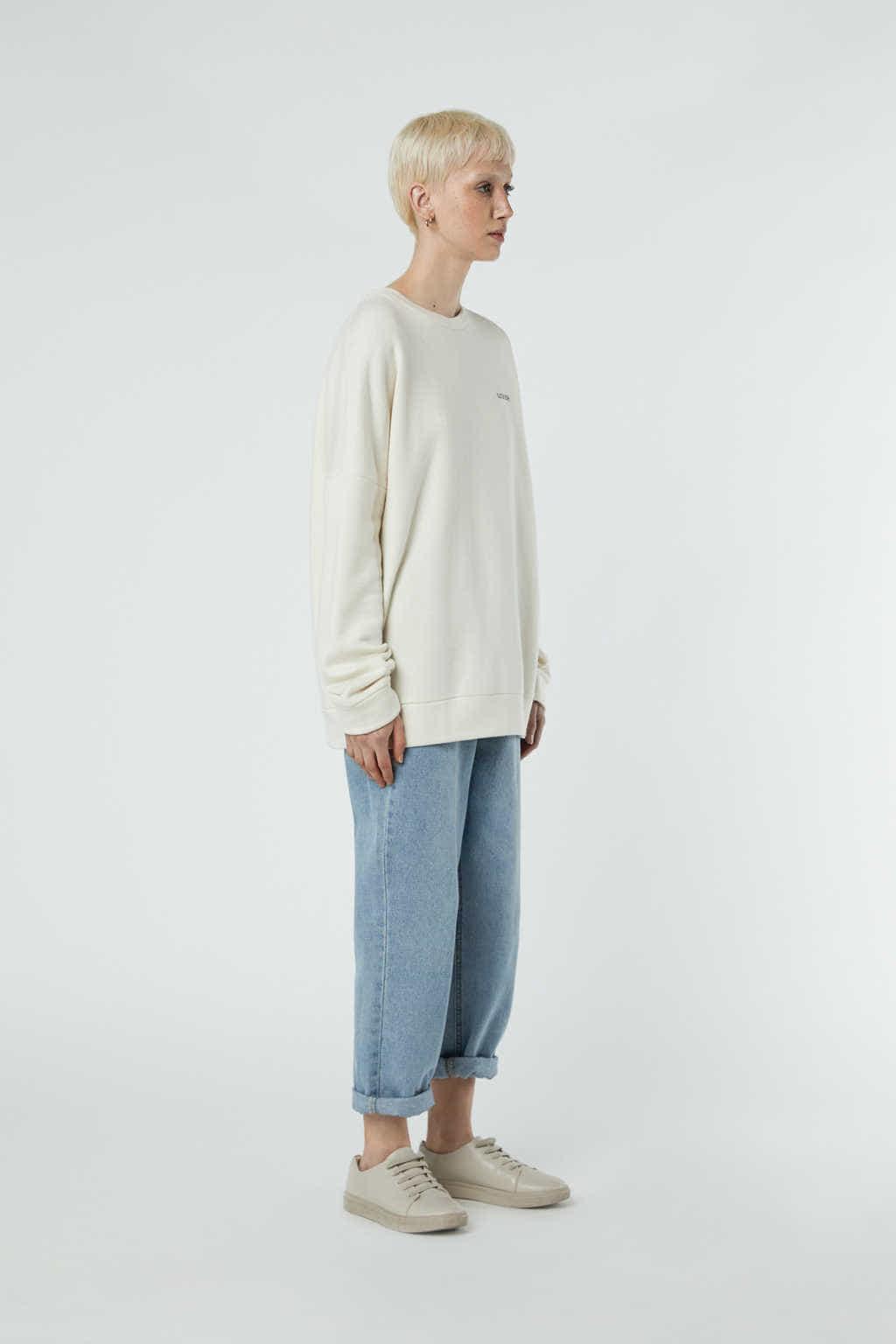 Sweatshirt 3302 Cream 4