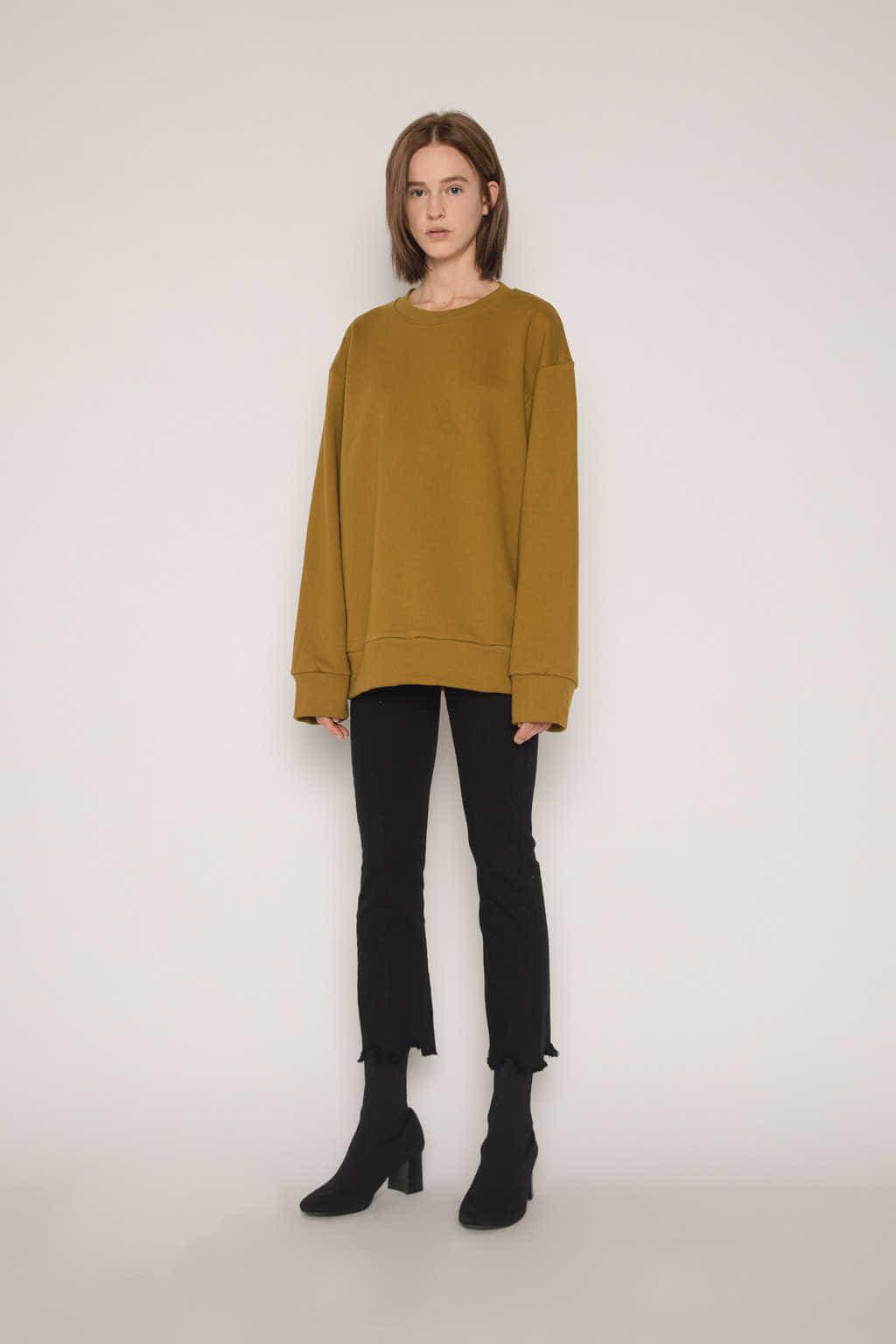 Sweatshirt H360 Olive 2
