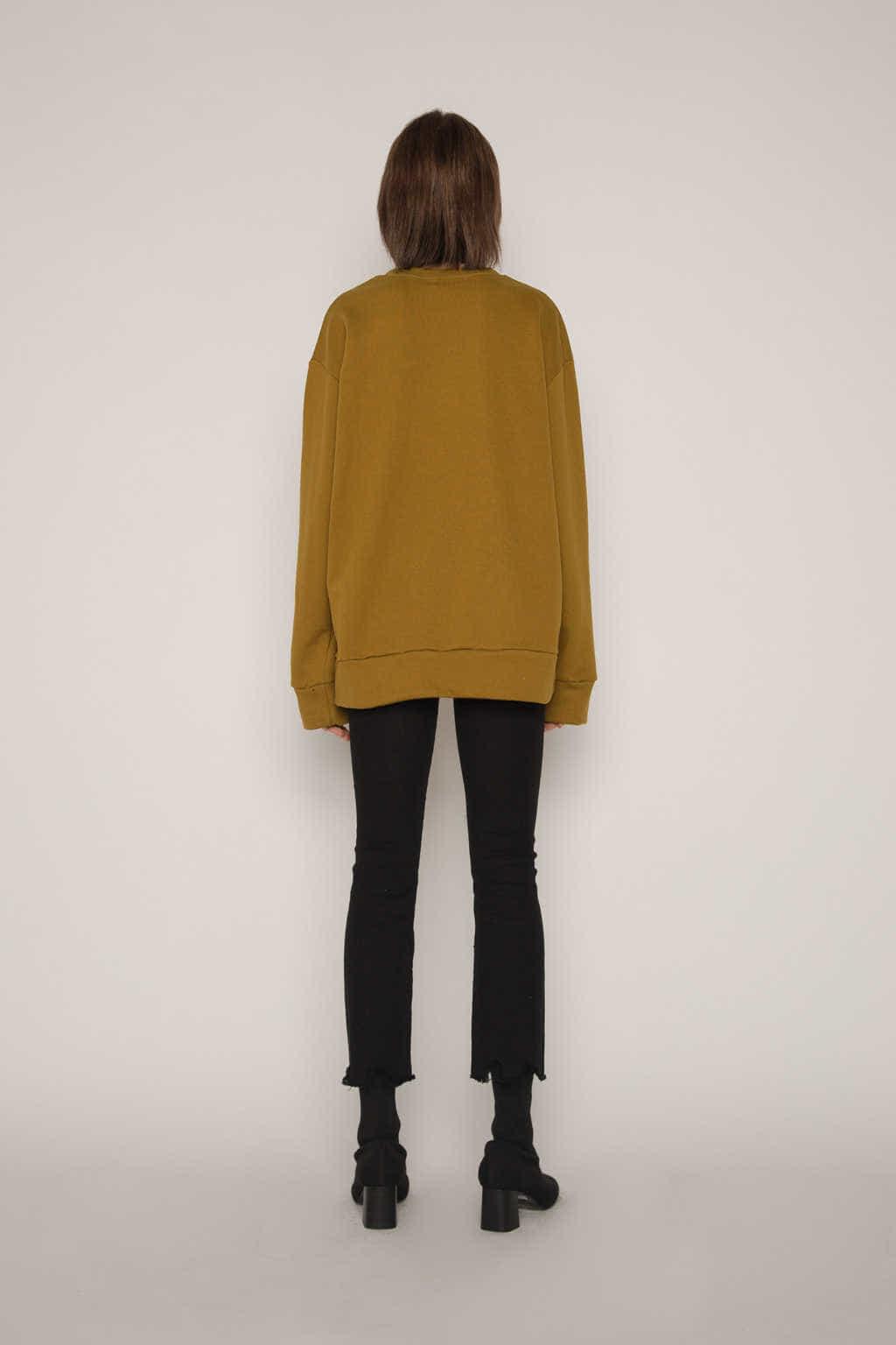 Sweatshirt H360 Olive 4