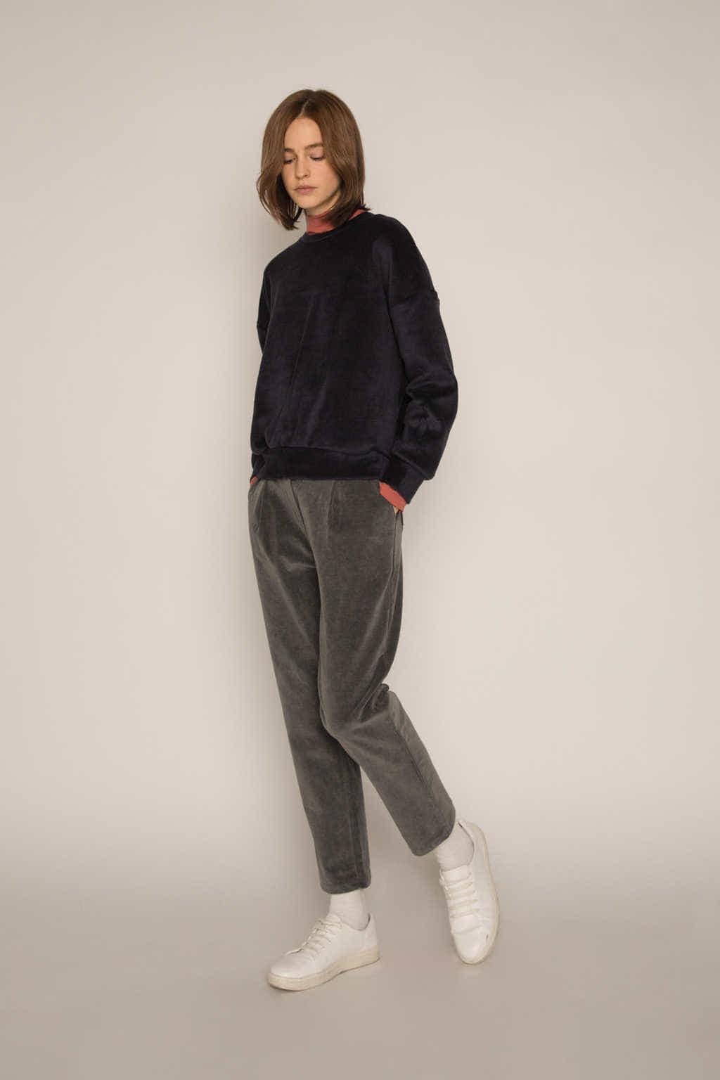 Sweatshirt H479 Black 1