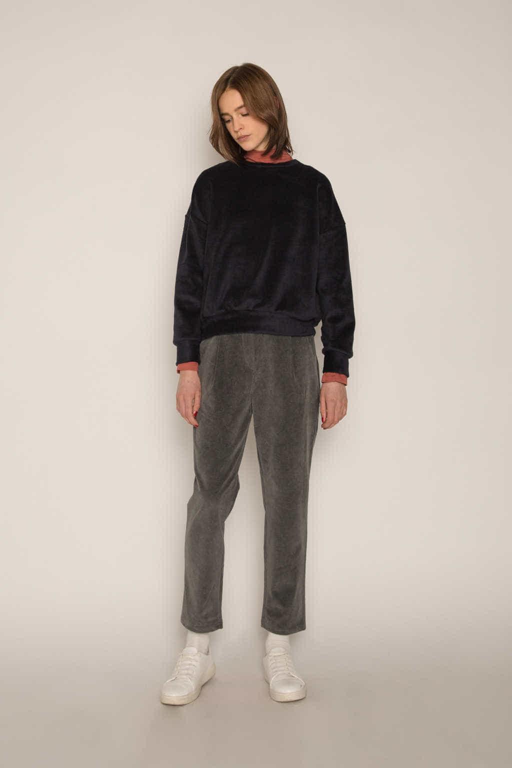 Sweatshirt H479 Black 2