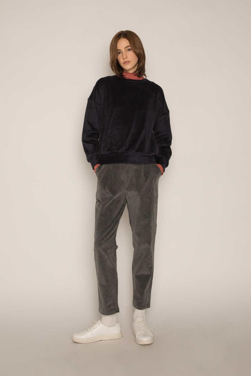 Sweatshirt H479 Black 3