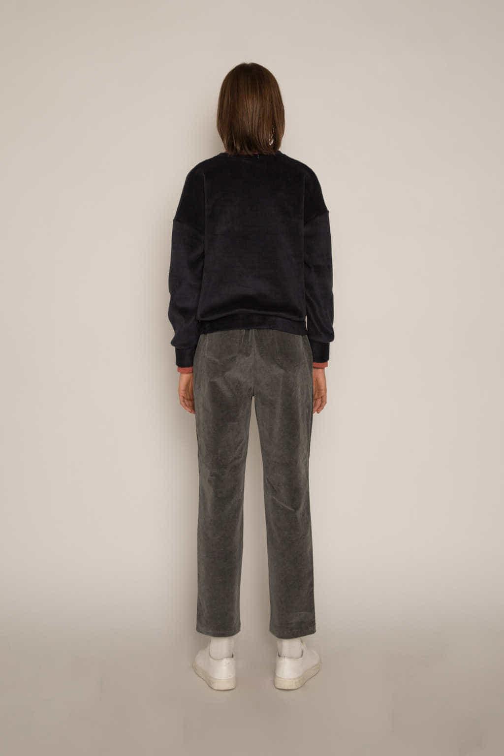 Sweatshirt H479 Black 4