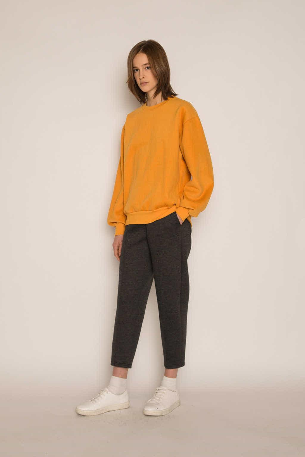 Sweatshirt H479 Mustard 2