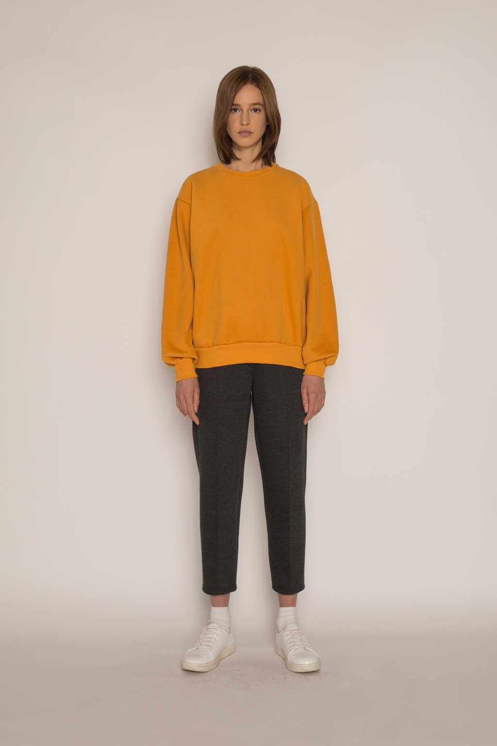 Sweatshirt H479 Mustard 5