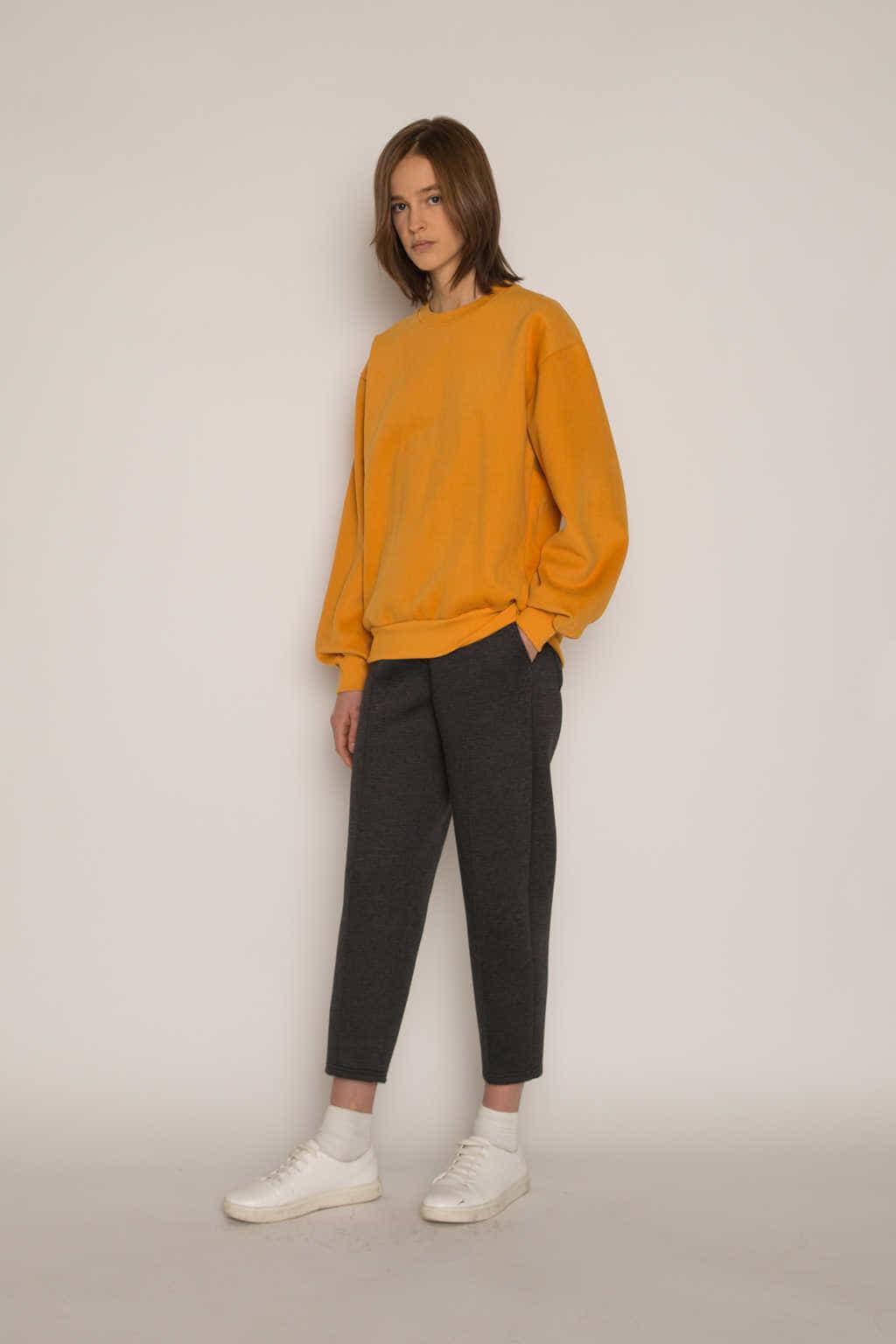 Sweatshirt H479 Mustard 6