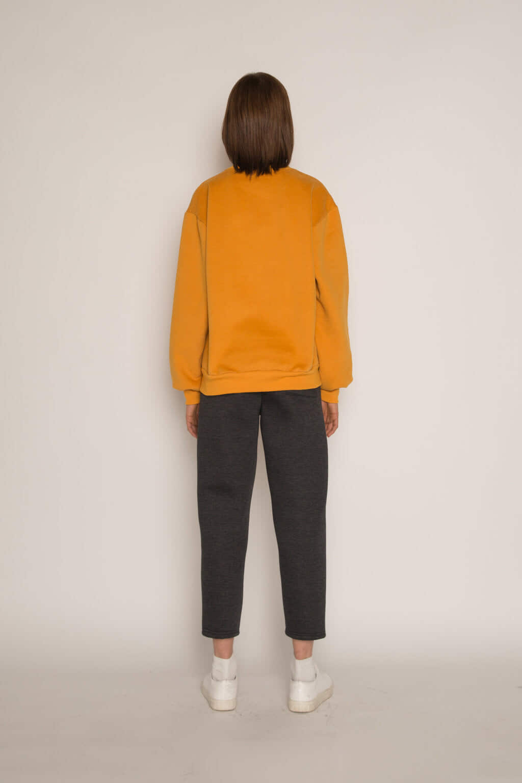 Sweatshirt H479 Mustard 8