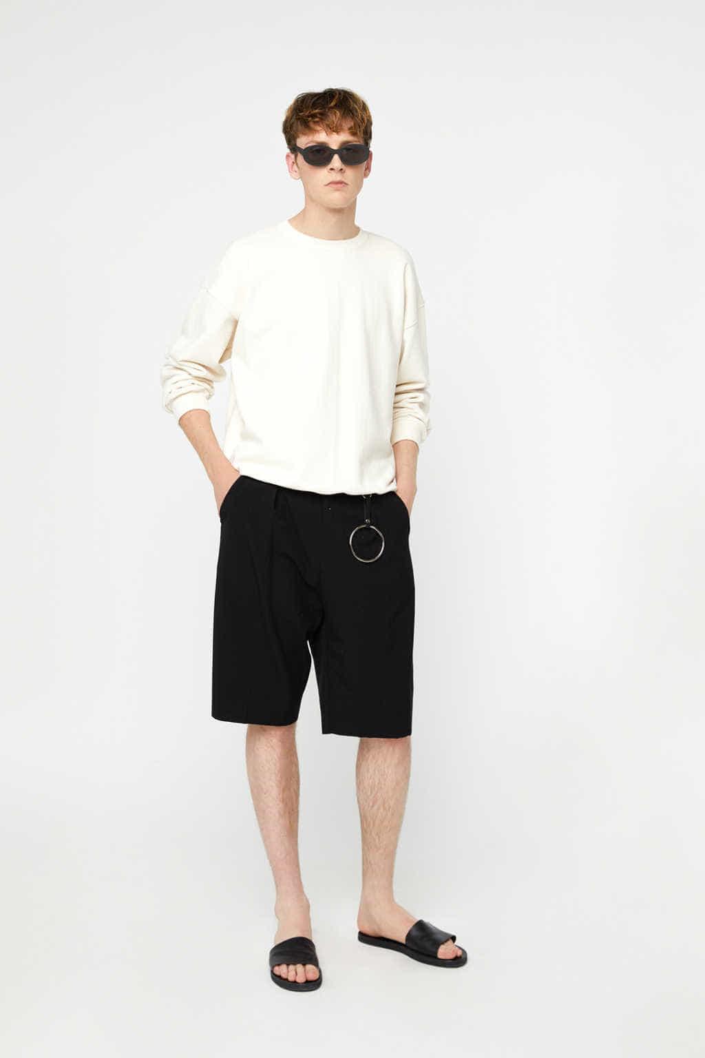 Sweatshirt K012 Cream 1