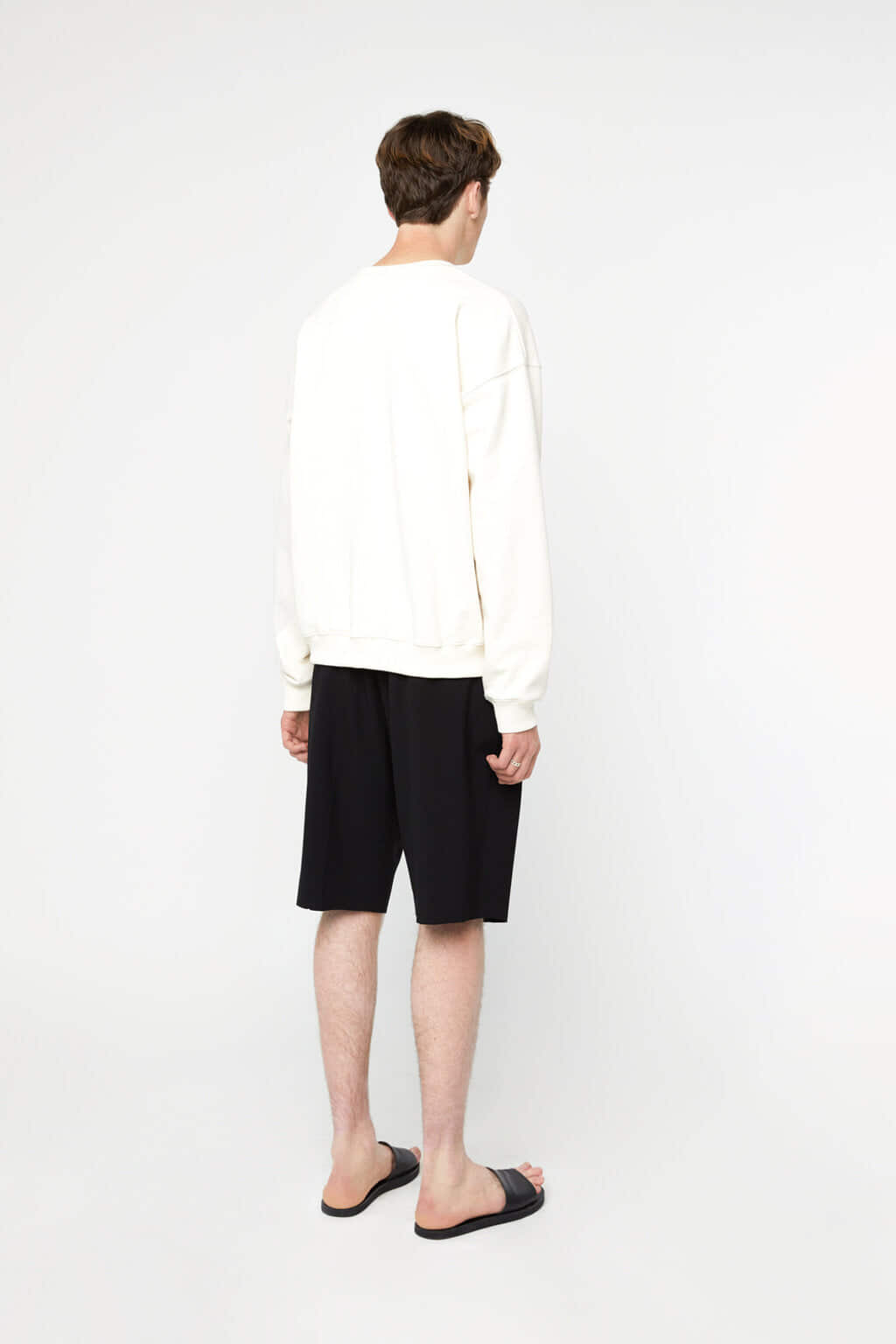 Sweatshirt K012 Cream 4