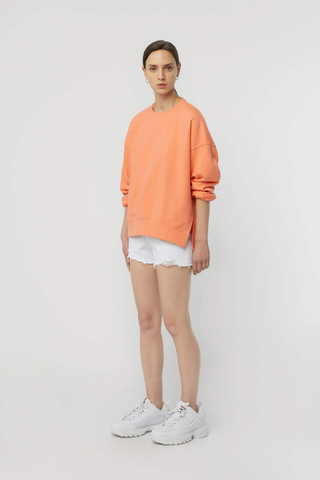 Sweatshirt K147 Orange 1
