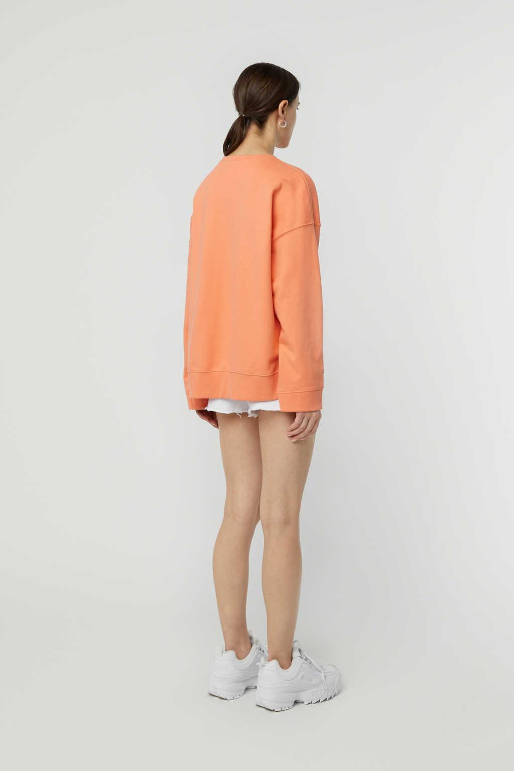 Sweatshirt K147 Orange 4