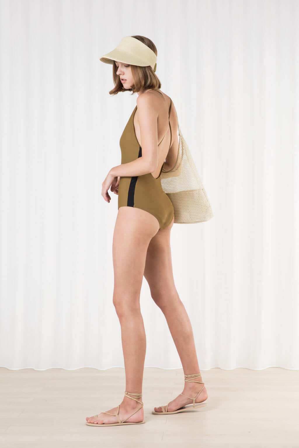 Swimsuit 2202 Olive 3