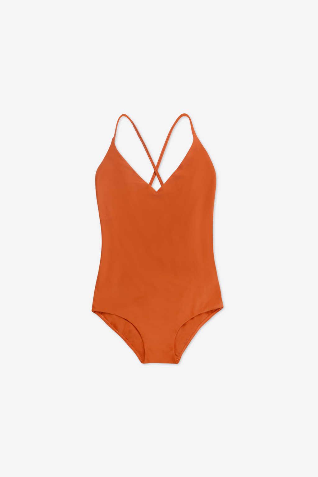 Swimsuit 2202 Orange 7