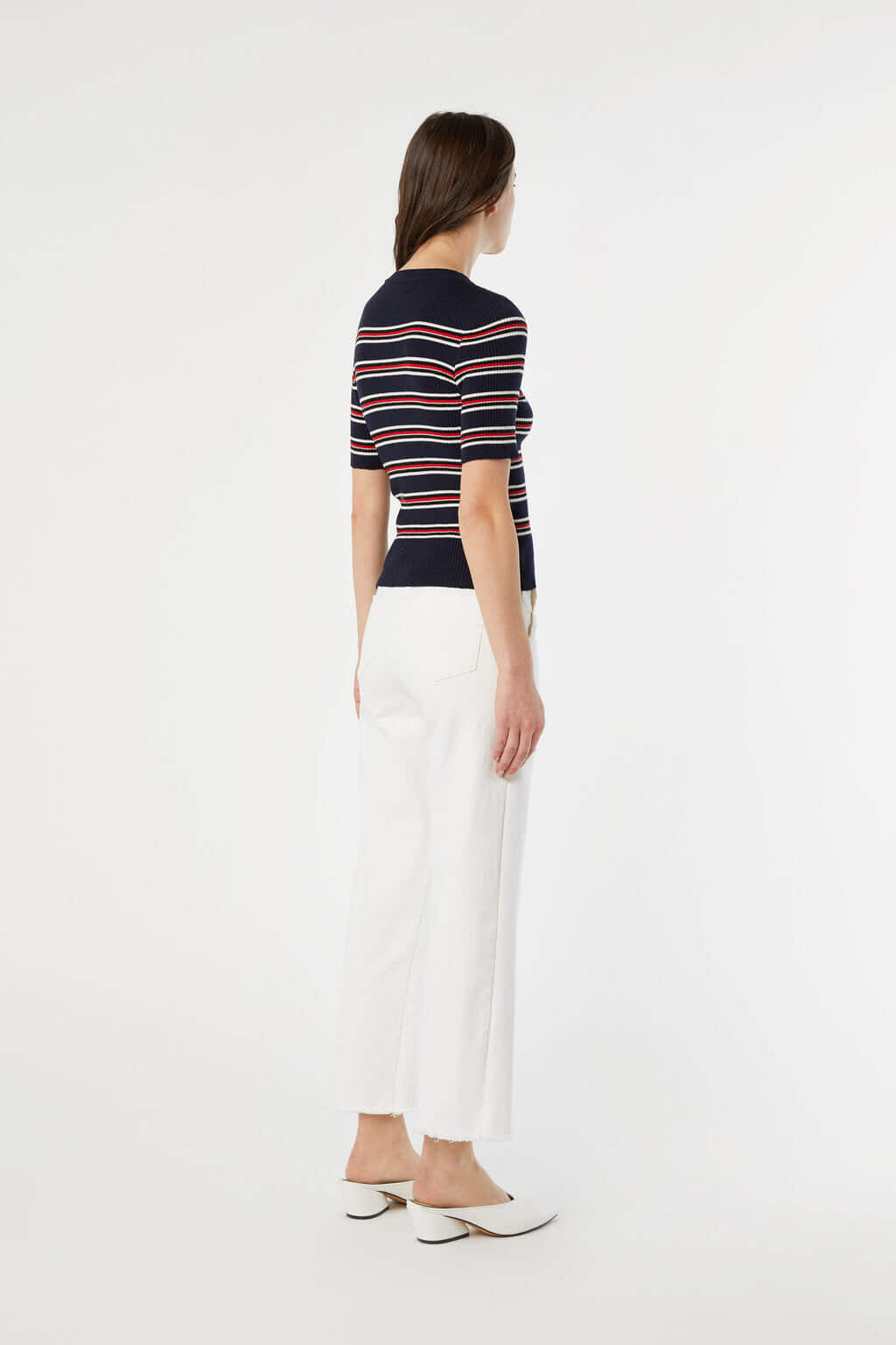 TShirt 3611 Red Blue Stripe 4