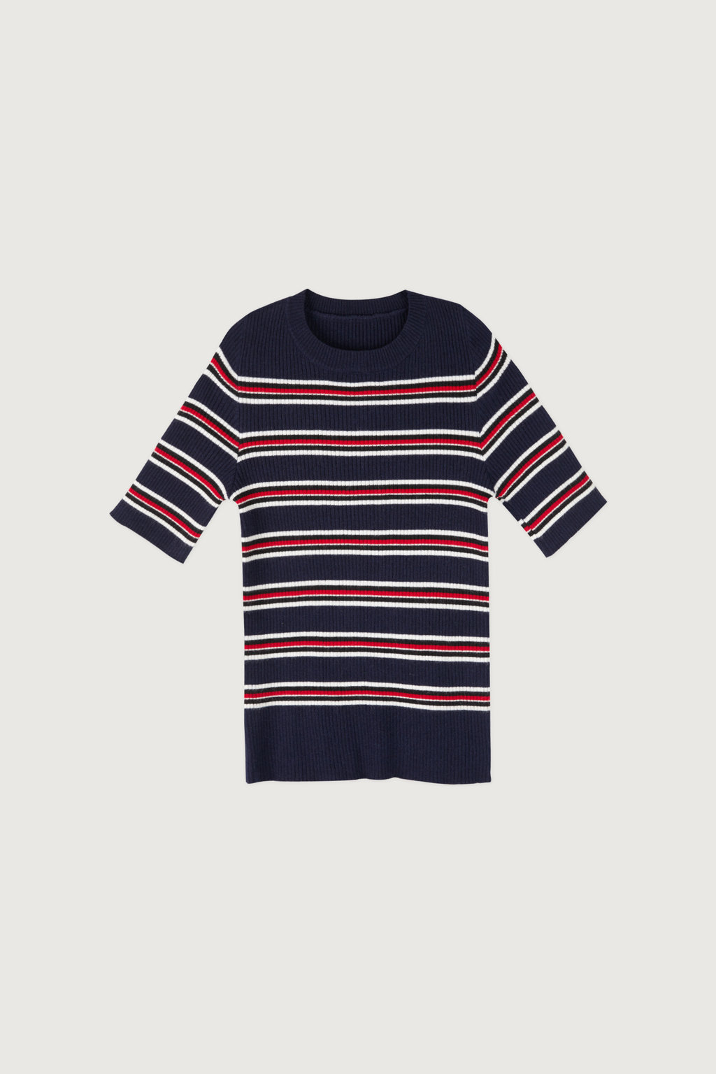 TShirt 3611 Red Blue Stripe 5