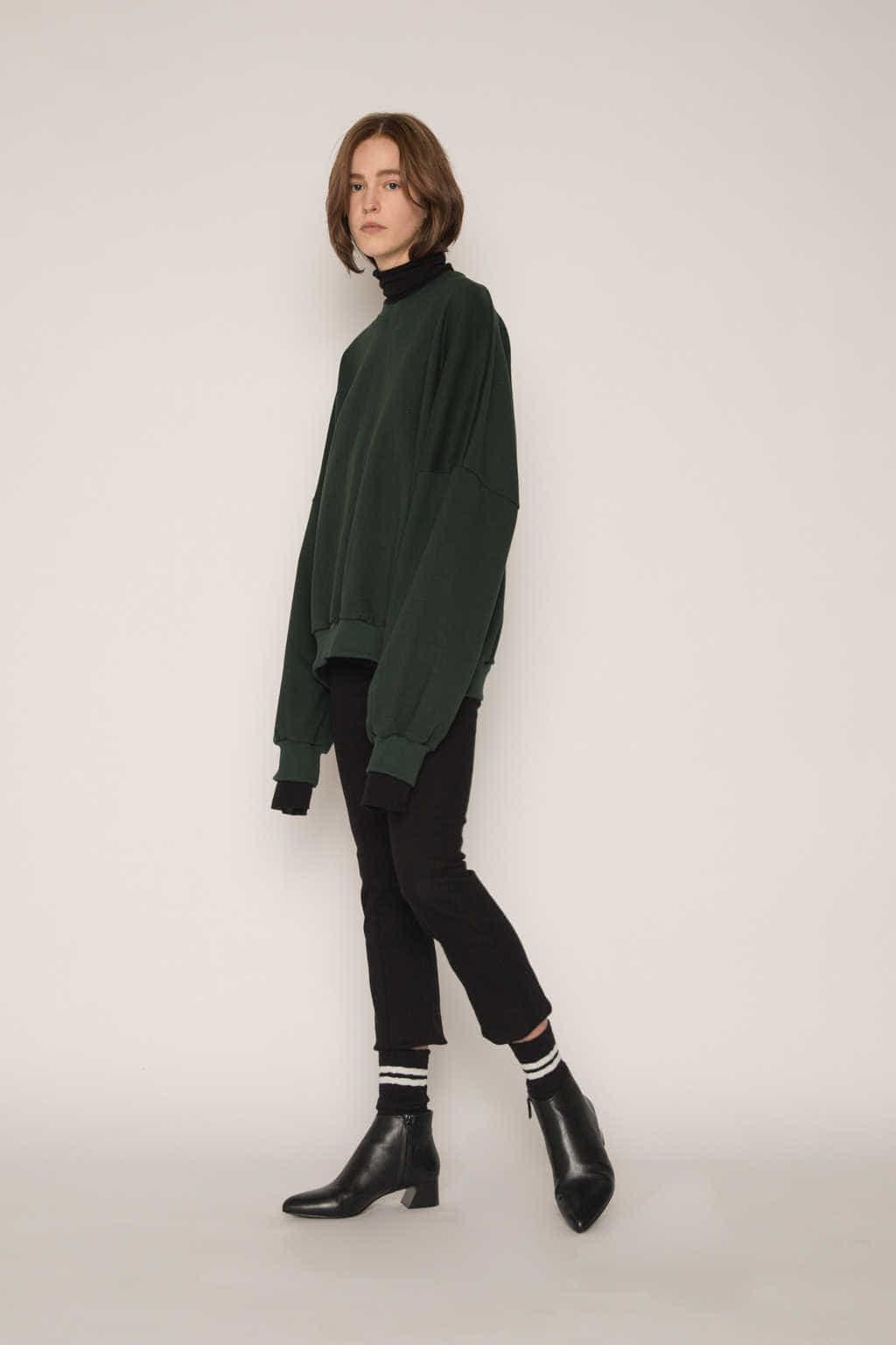 TShirt H391 Green 3
