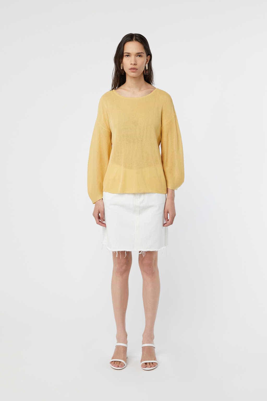TShirt K010 Yellow 2