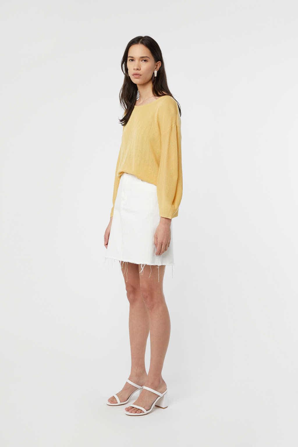 TShirt K010 Yellow 3