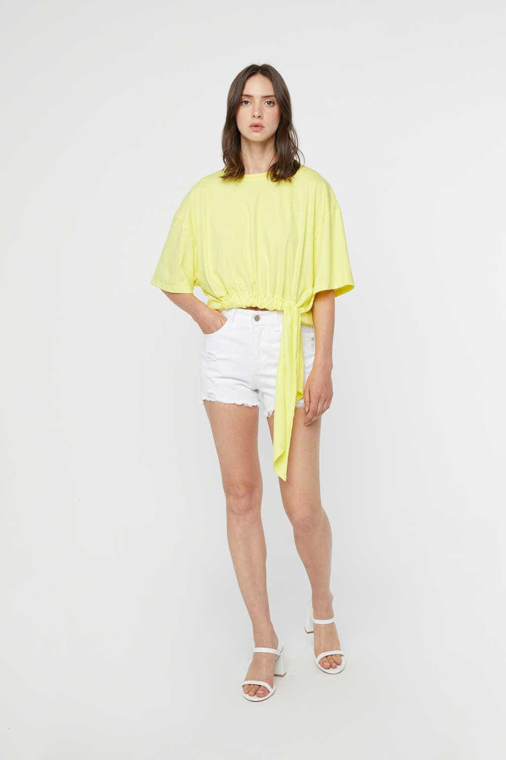 TShirt K151 Yellow 2