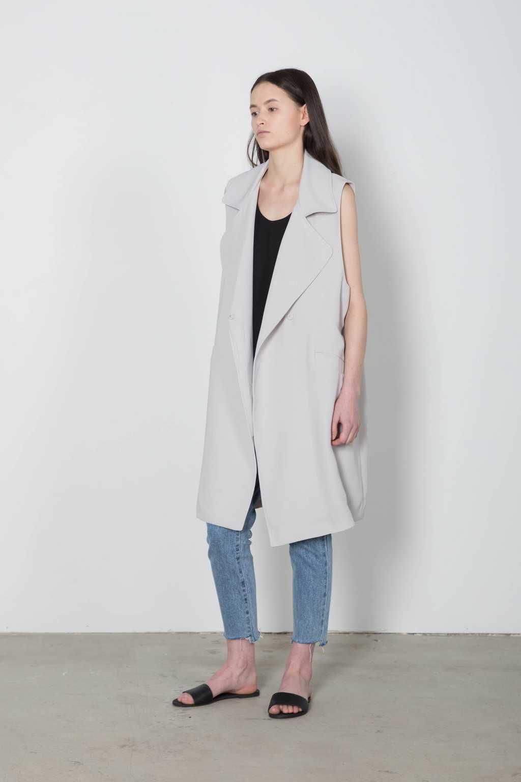 Vest 4093 Gray 4