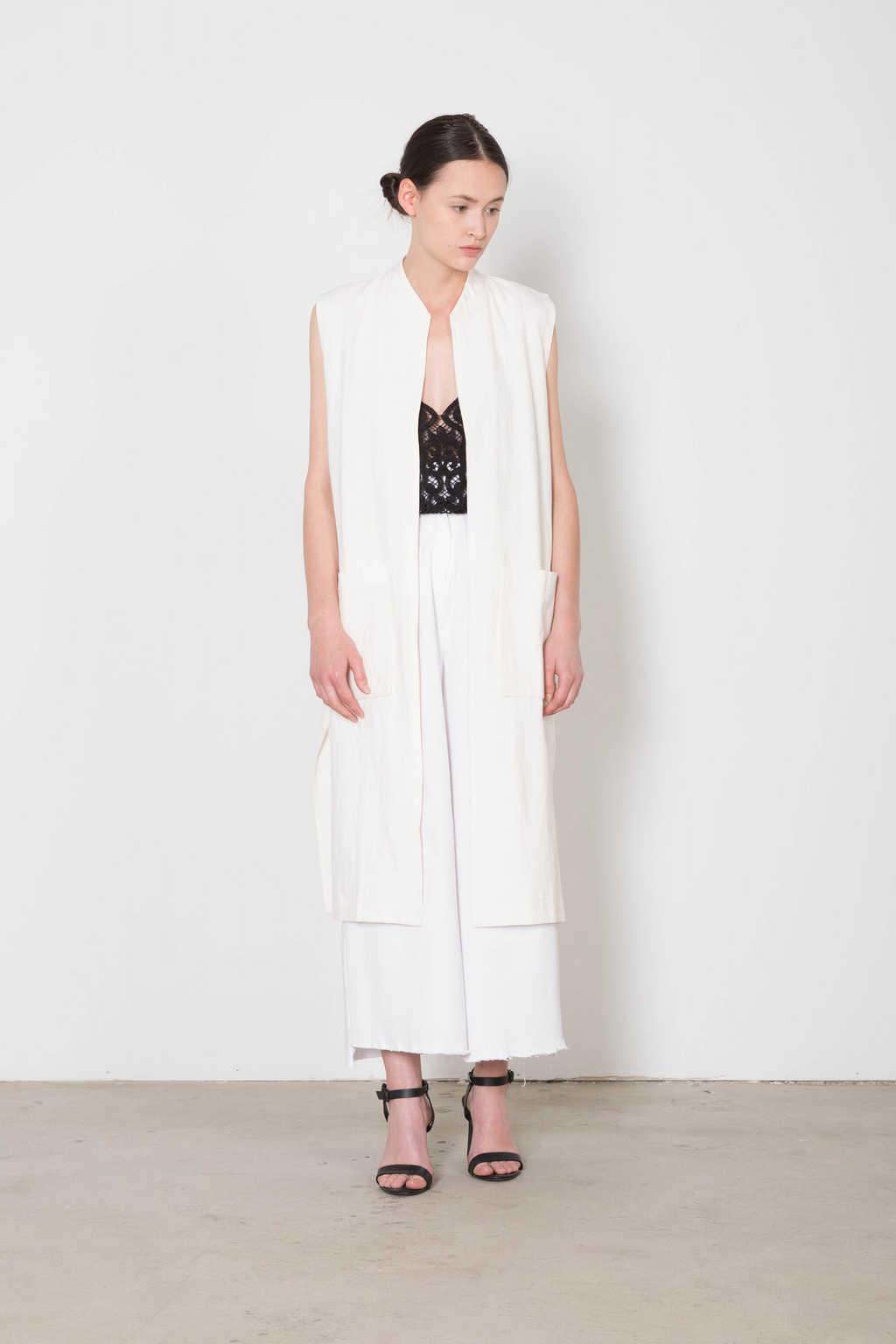 Vest 4094 White 1