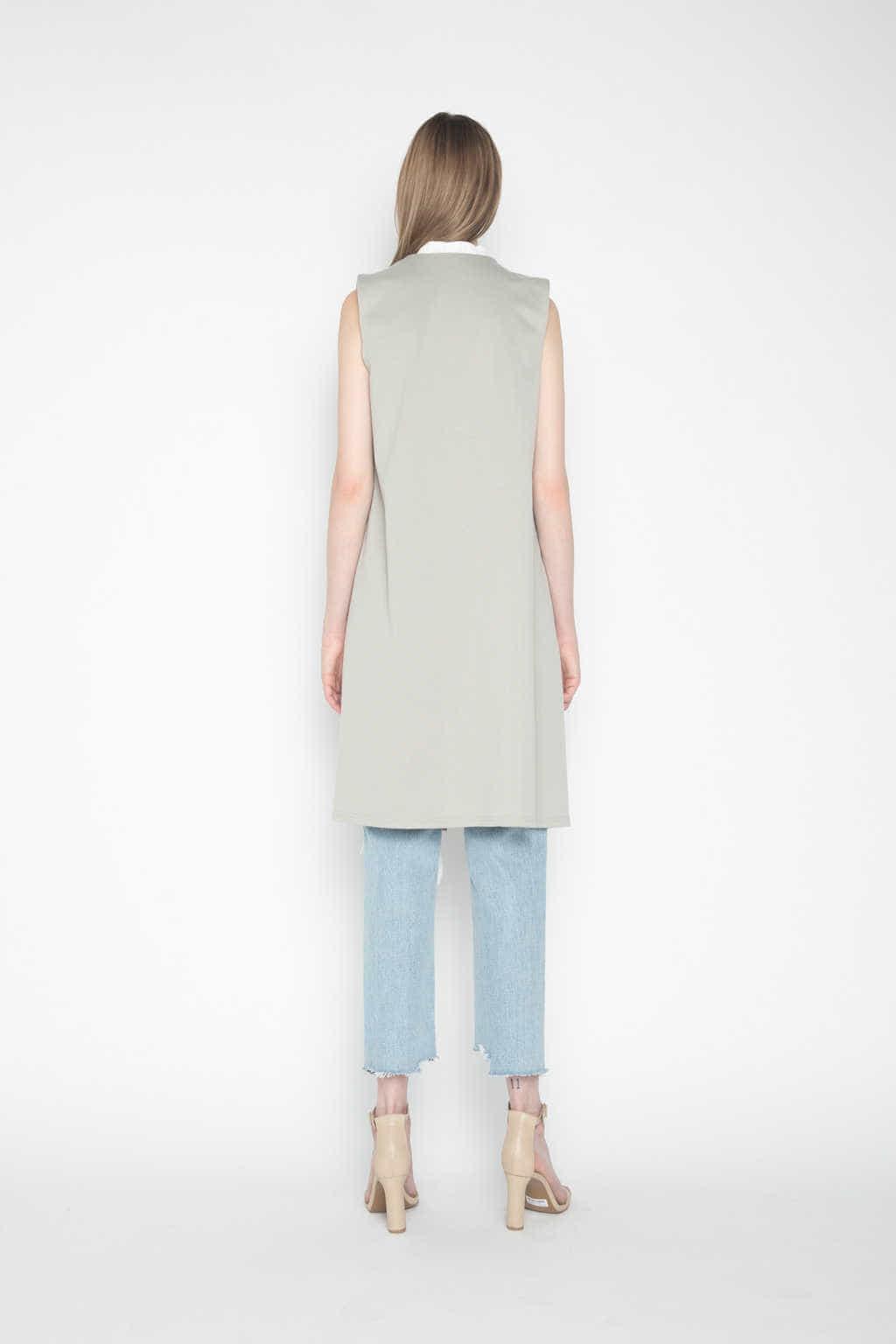 Vest H025 Olive 4