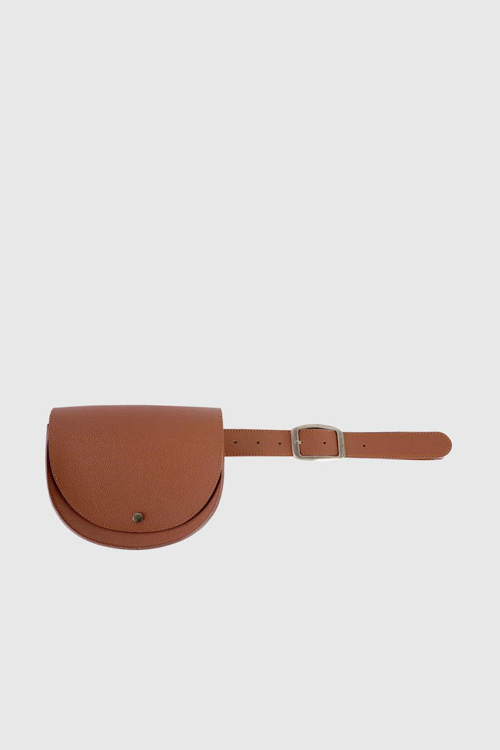 Waist Bag J001 Brown 5